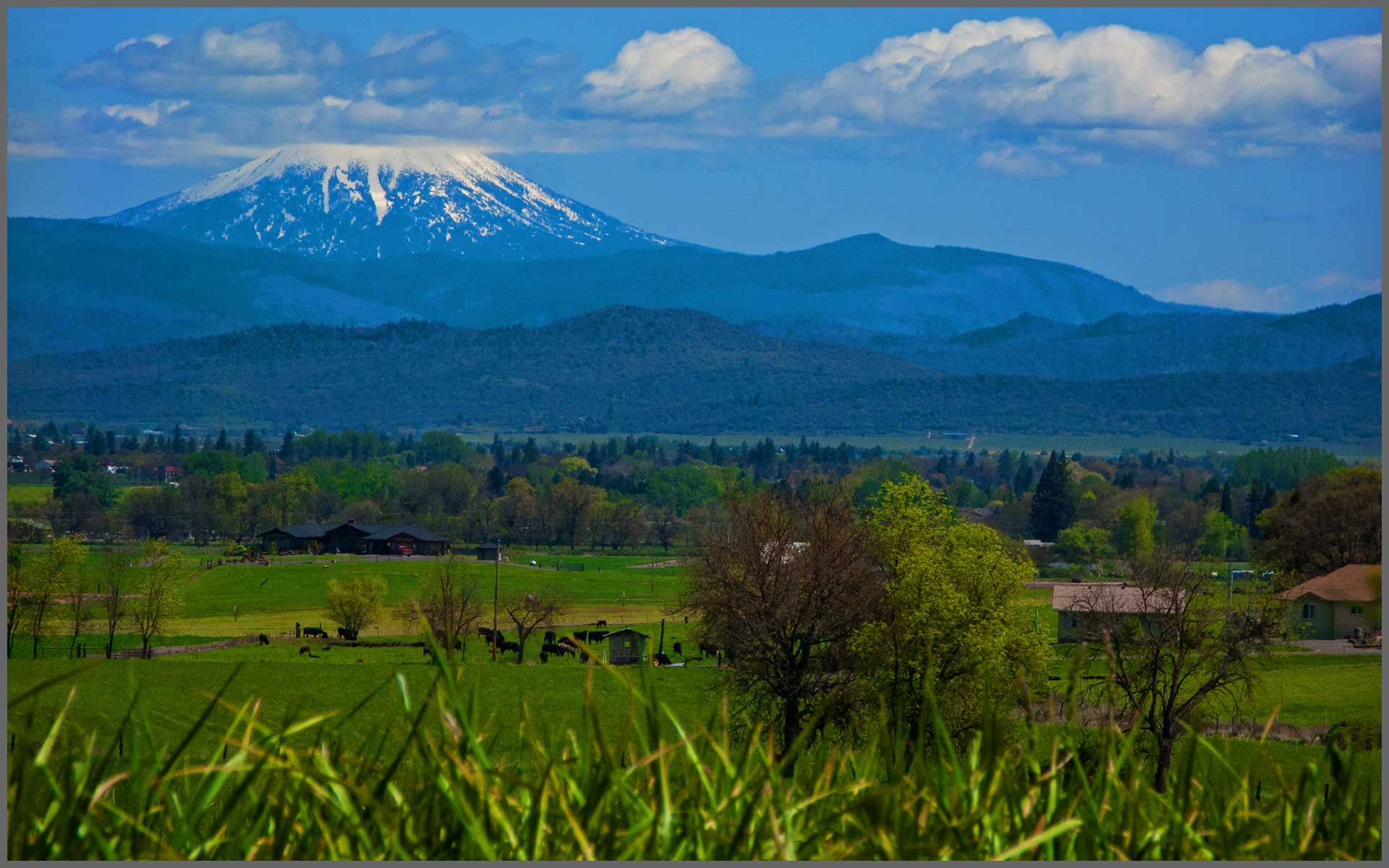 Mt. McLoughlin in Southern Oregon