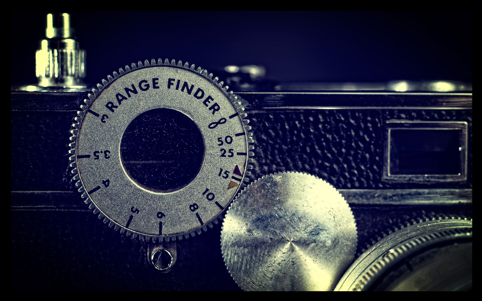 An Old Argus C3 Rangefinder Camera